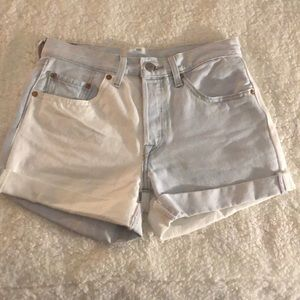 levi's two toned shorts